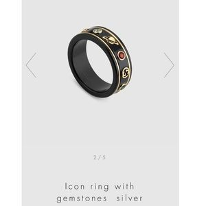 Gucci icon ring size 8.5